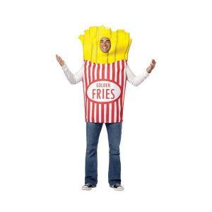 Disfraz bolsa de patatas fritas