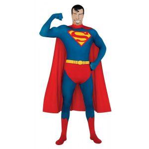 Disfraz superman segunda piel adulto