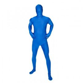 Disfraz mono completo morphsuit azul
