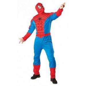 Disfraz Spiderman musculoso adulto
