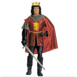 Disfraz rey medieval adulto XL