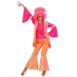 Disfraz hippie mujer XL