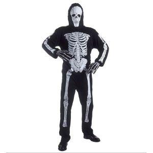 Disfraz esqueleto adulto