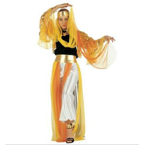 Disfraz bailarina árabe Odalisca