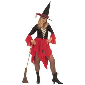 Disfraz bruja roja