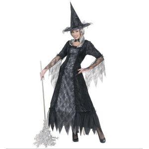 Disfraz bruja araña mujer adulto