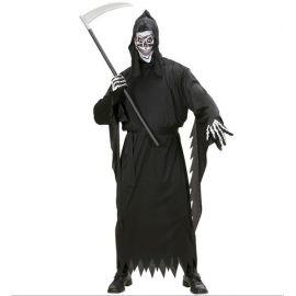 Disfraz fantasma negro adulto