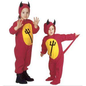 Disfraz diablo/a niño de 2 a 4 años