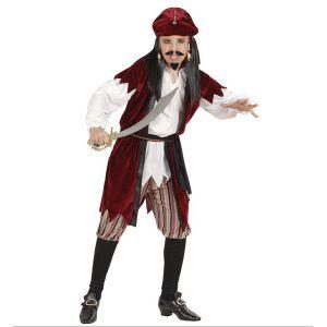 Disfraz pirata deluxe niño