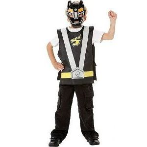 Disfraz power ranger negro blister