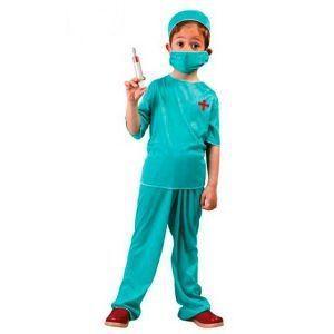 Disfraz médico niños de 4 a 12 años