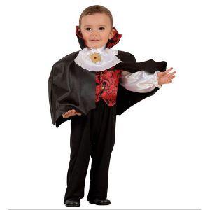 Disfraz vampiro 1-2 y 2-3 años