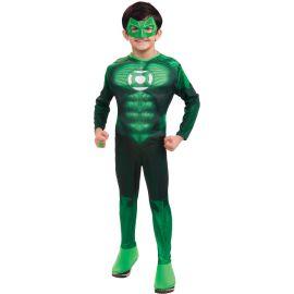 Disfraz linterna verde infantil niños de 3 a 8 años