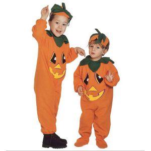 Disfraz de calabaza infantil de 2 a 4 años