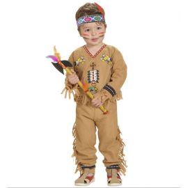 Disfraz indio 1-2 y 2-3 años