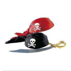Sombrero pirata casco