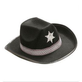 Sombrero vaquero niño negro