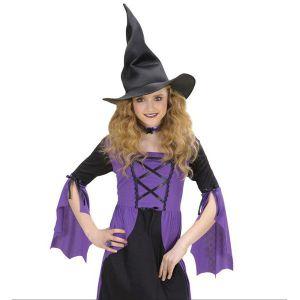 Sombrero bruja niña moldeable