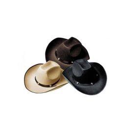 Sombrero cowboy vaquero 3 colores