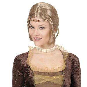 Peluca princesa renacimiento