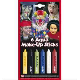 Maquillaje de agua colores