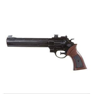 Pistola cañon largo