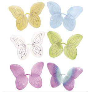 Alas mariposa de colores surt