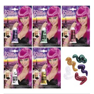 Gel purpurina colores surt