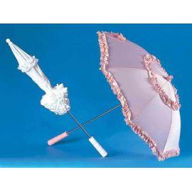 Sombrilla belle epoque rosa