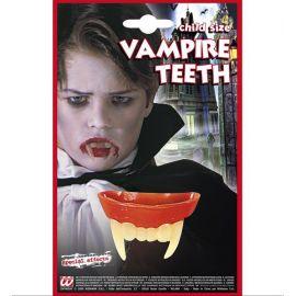 Dientes vampiro niño