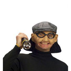 Mascara ladron con pelo