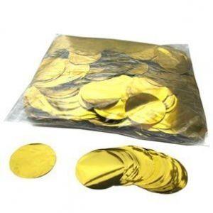 Confetti metalizado 50 gr (oro y plata)