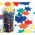 Confetti estrellas tubo