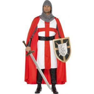 Disfraz caballero cruzado medieval sm
