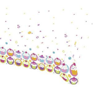Mantel cupcake 120x180 cm