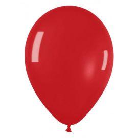 Globo rojo metal