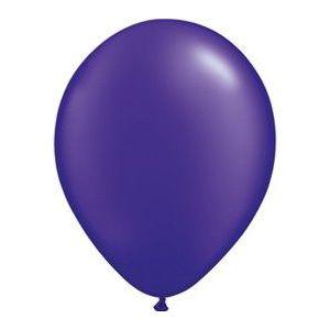Globo violeta metal