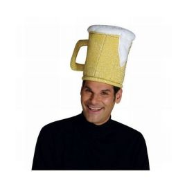 Sombrero jarra cerveza