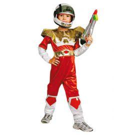 Disfraz espacial con casco infantil