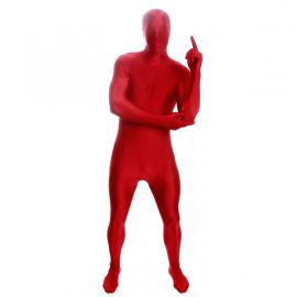 Disfraz morphsuit marron adulto