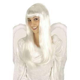 Peluca angel blanca