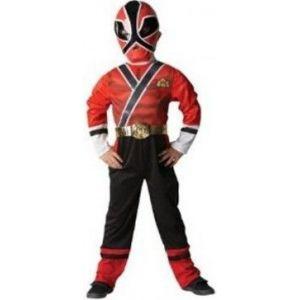 Disfraz power ranger samurai