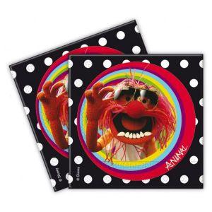 Servilletas los muppets