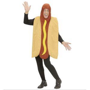 Disfraz perrito caliente adulto