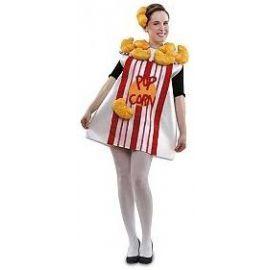 Disfraz pop corn