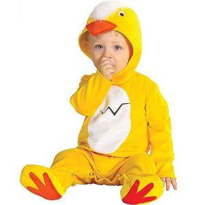 Disfraz bebe pollito