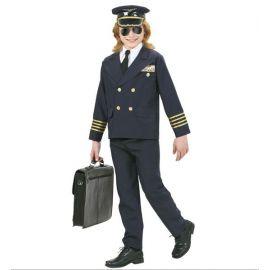 Disfraz piloto aereo infantil