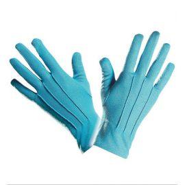 Guantes cortos azules