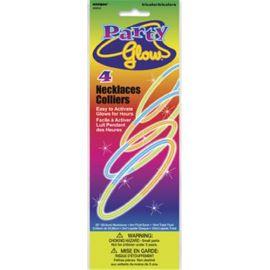 Collar tricolor fluorescente pack 4 und
