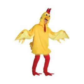 Disfraz pollo esponjoso deluxe